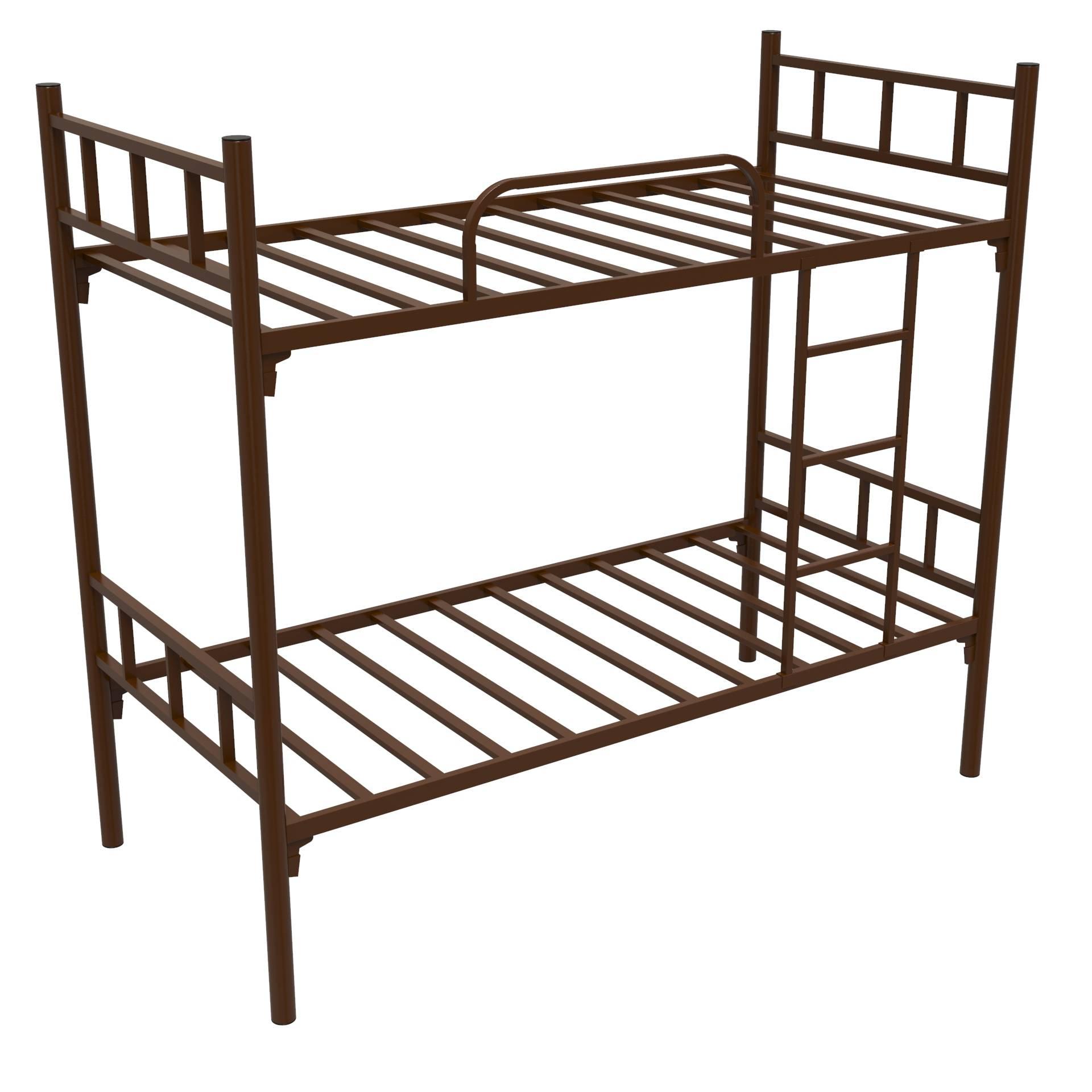 Железные двухъярусные кровати в картинках
